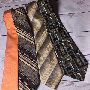 Lot Of 4 Men's Ties